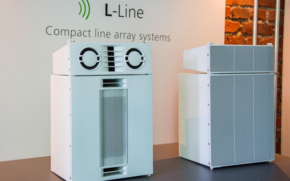 LineArrays von SE-Audiotechnik in weiss